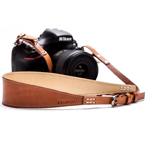 สายคล้องกล้องหนังแท้ หนังแท้นำเข้าจากอิตาลี cam-in Italy Leather Strap