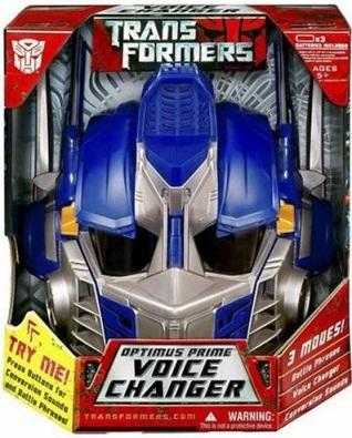Transformers Optimus Prime Voice Changer Helmet NEW