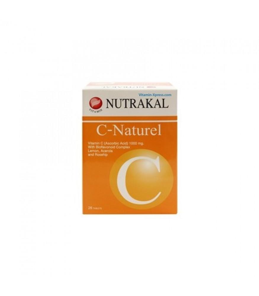 NUTRAKAL C-NATUREL (2 กล่อง x 100 Tablets)