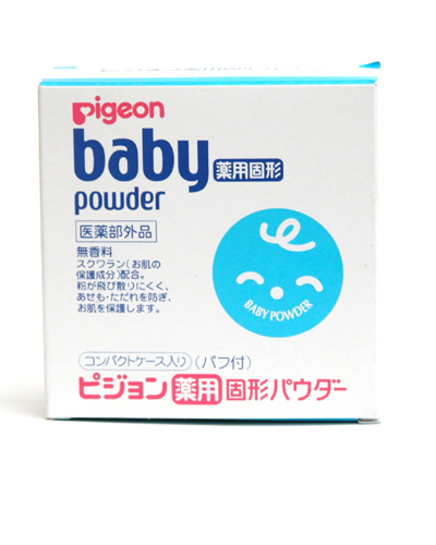 Pigeon Baby Powder Pressed 45g. (แป้งพัฟ)