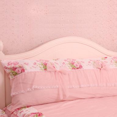 Pre-Order หมอนหัวเตียงเจ้าหญิง สีชมพู