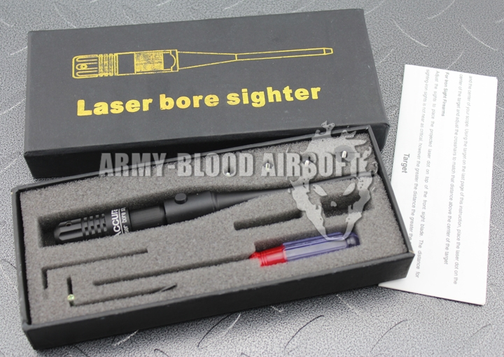 Red LASER BORE SIGHTER (Button Control)