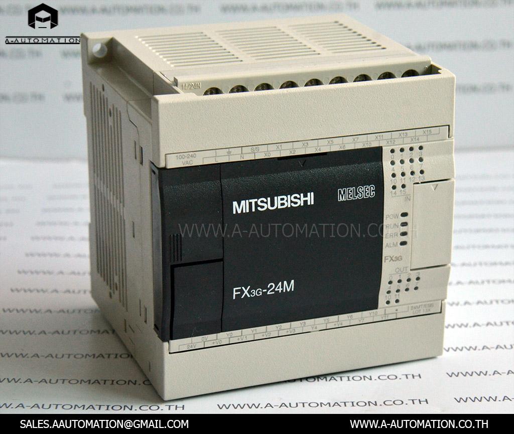 PLC MODEL:FX3G-24MT/ESS [MITSUBISHI]