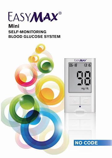 เครื่องเจาะวัดน้ำตาลในเลือด รุ่น EasyMax Mini รหัส MEI10