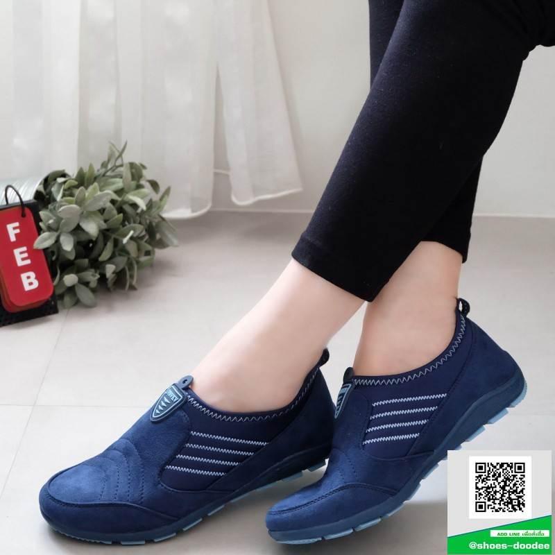 ผ้าใบเกาหลี งานสวย ยืดหยุ่น 8258-น้ำเงิน [สีน้ำเงิน]