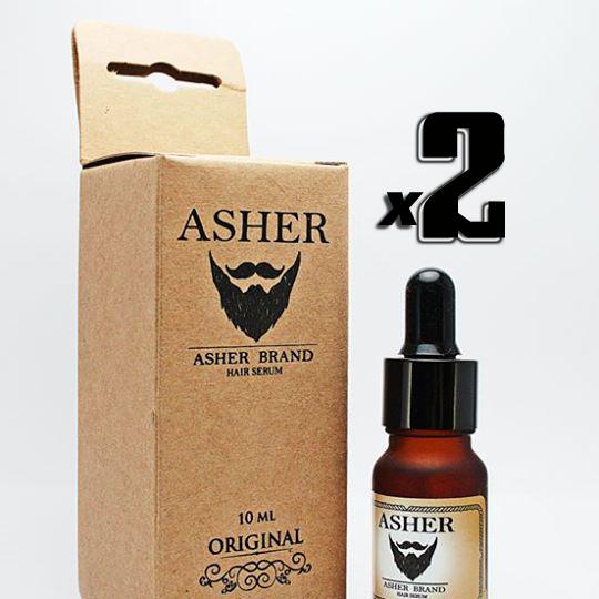 Asher สูตร Original 10 ml. 2 ขวด