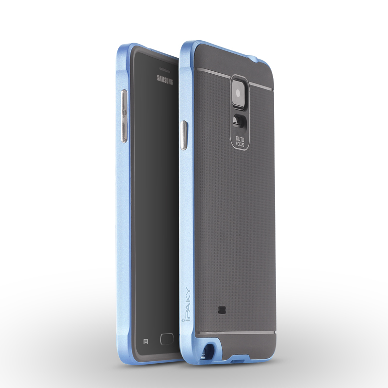 IPAKY Case Samsung Galaxy Note 4 (Blue)