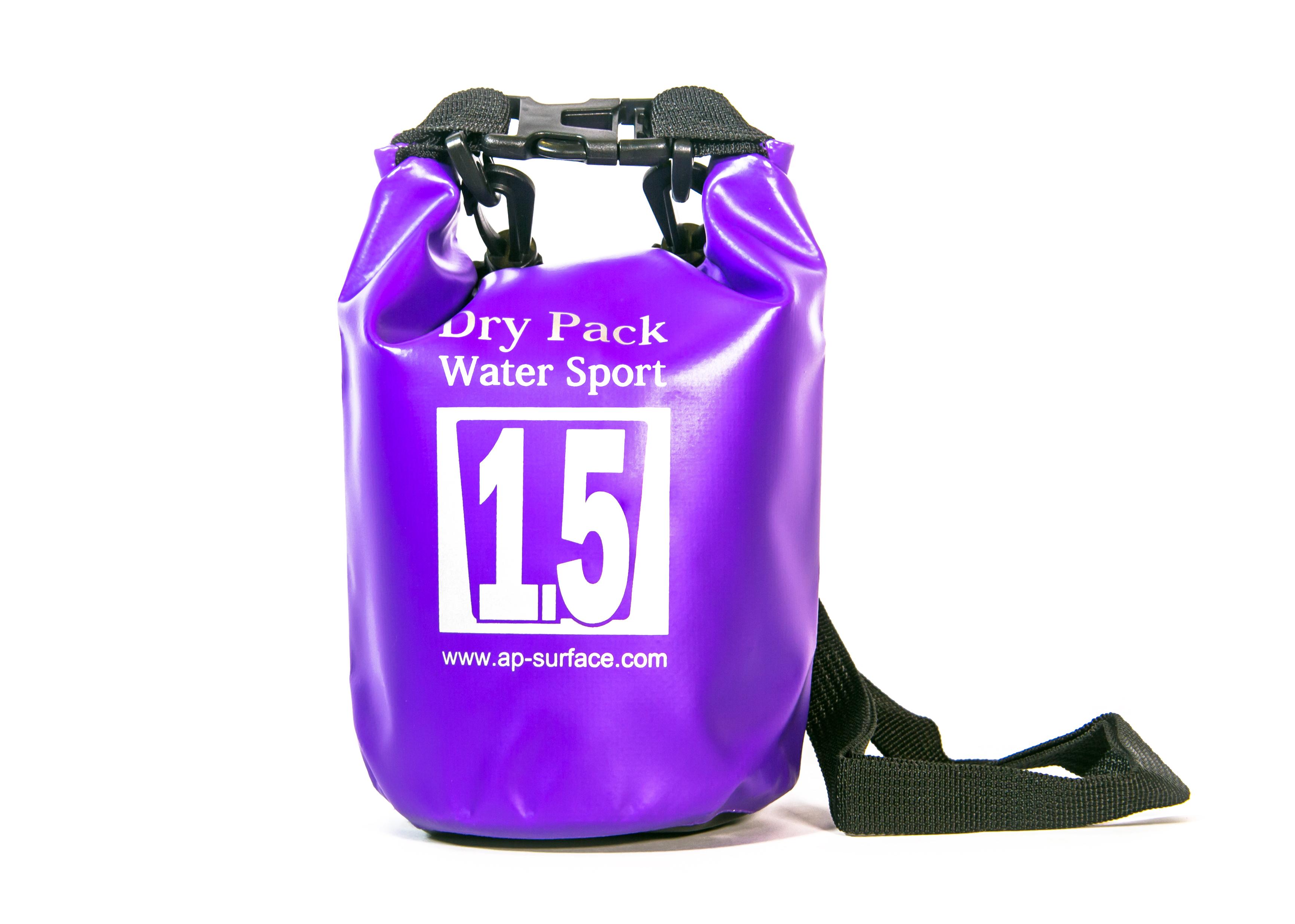 กระเป๋ากันน้ำ Dry Pack 1.5L - สีม่วง