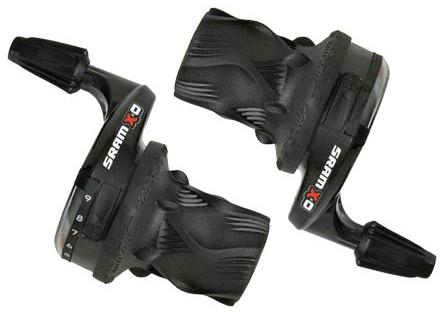 มือบิดSRAM X0 3*9-Speed / ค่ายอเมริกัน