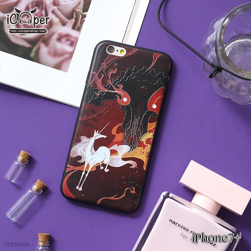 3D Case - White Horse (iPhone7+)