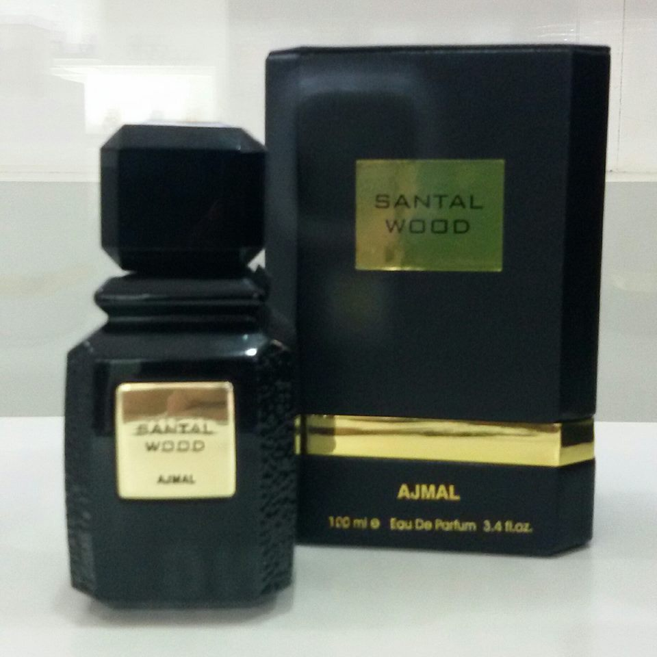 น้ำหอม AJMAL SANTAL WOOD Eau De Parfum Spray 100ml. New & Sealed Box.
