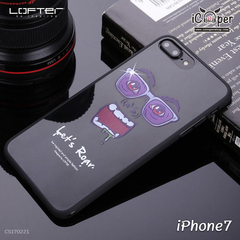 LOFTER Cartoon Mirror - Let's Roar (iPhone7)