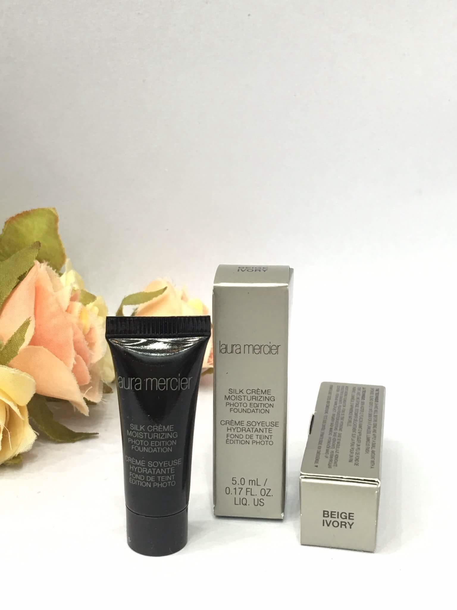 Laura Mercier Silk Creme Oil Free Photo Edition Foundation (5ml) #BeigeIvory