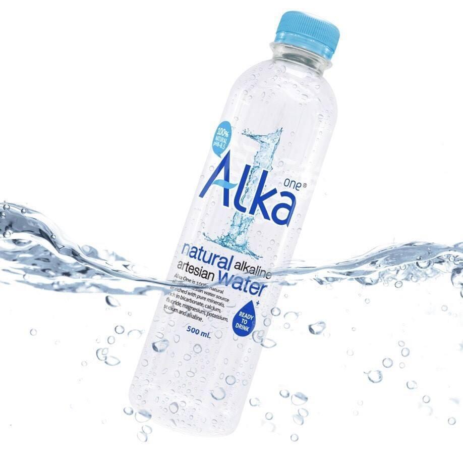 Alka One น้ำแร่อัลคาไลน์ธรรมชาติ มีค่า PH8-8.5 (350 ml.) **