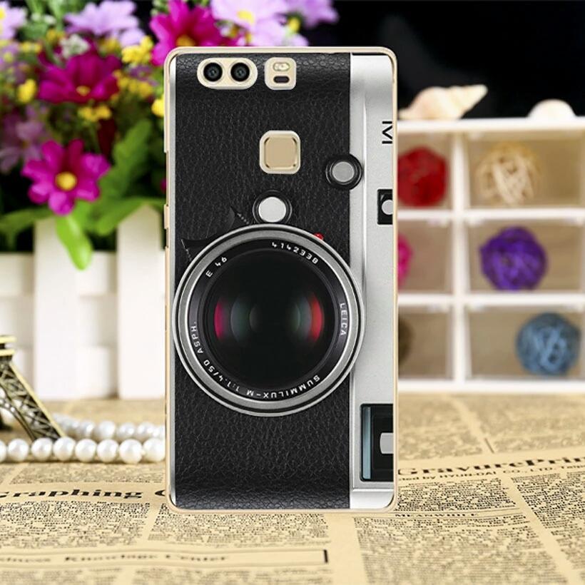 เคส huawei p9 plus เคสลายกล้องถ่ายรูป วัสดุpcเคส
