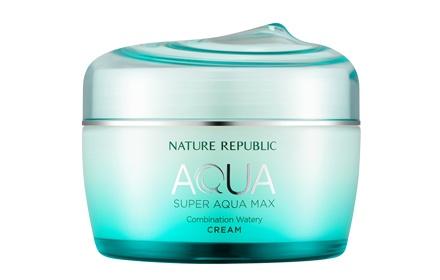 ** พร้อมส่ง ** NATURE REPUBLIC Super Aqua Max Combination Watery Cream
