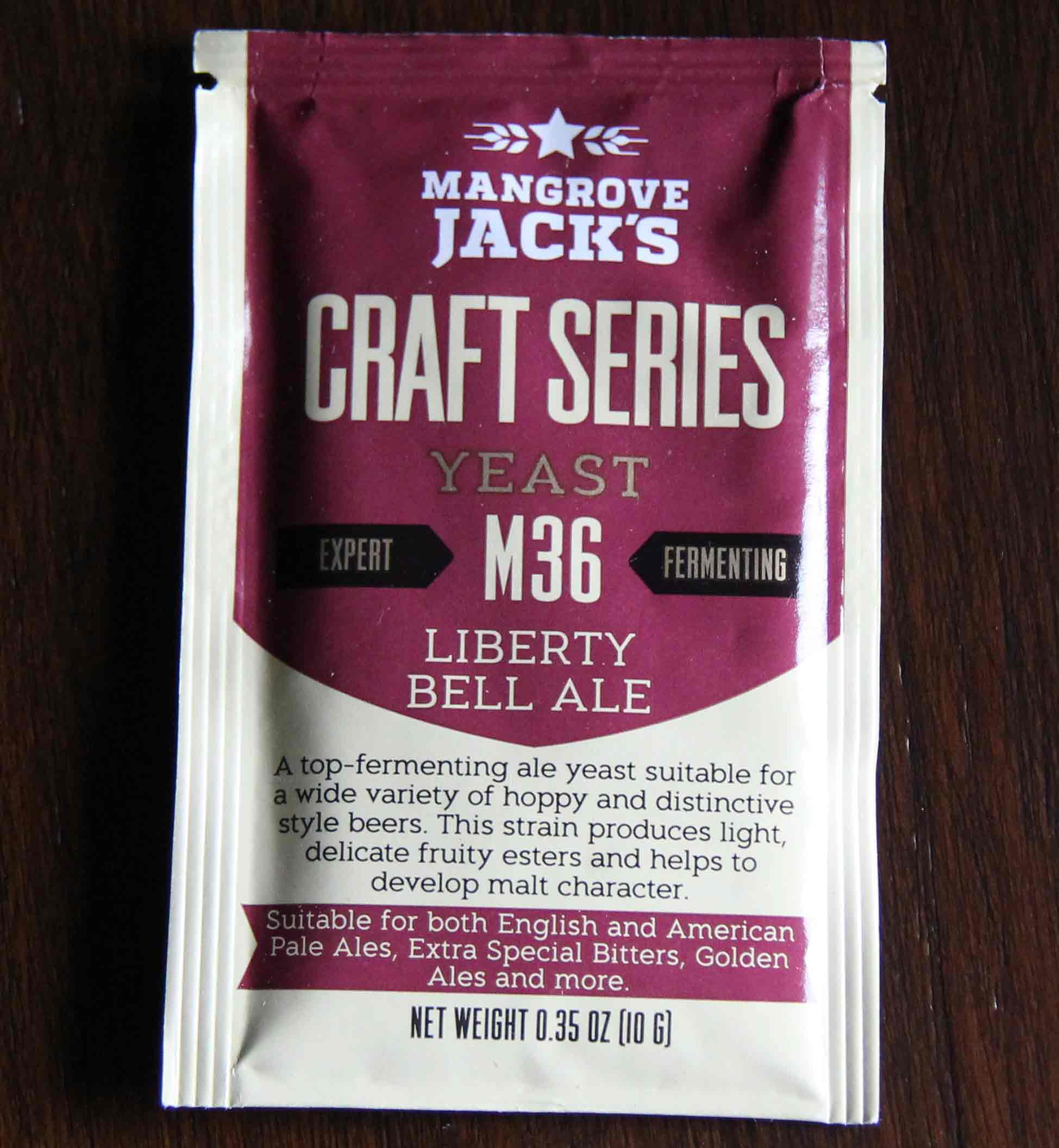 Mangrove Jack's - M36 LIBERTY BELL ALE Dry Yeast