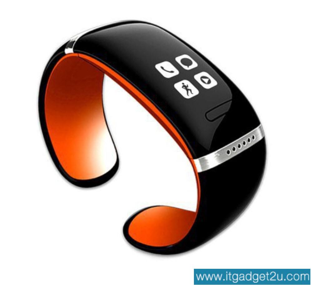 นาฬิกาโทรศัพท์ Bluetooth Smart Watch รุ่น L12S Bracelet Wrist สีส้ม ปกติราคา 2,450 ลดเหลือ 1,490 บาท