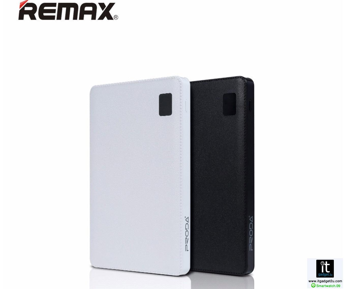 Power Bank แบตสำรอง รุ่น Proda Note Book 30000 mAh สีดำ ของแท้ ปกติราคา 1,890 ลดเหลือ 879 บาท