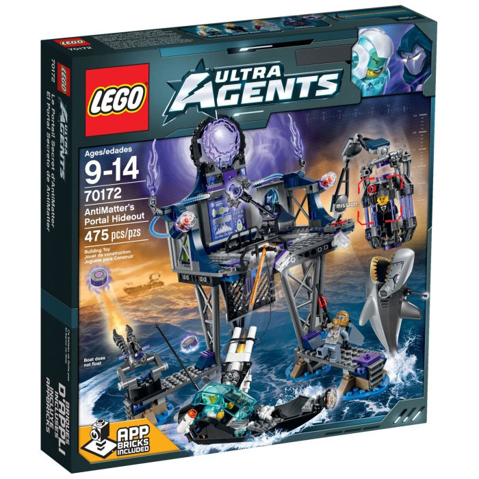 LEGO Ultra Agents 70172 AntiMatter's Portal Hideout