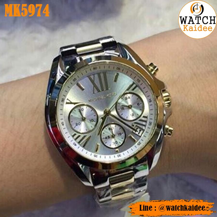 77625a956a96 นาฬิกาข้อมือ Michael Kors รุ่น mk5974 แท้ - WatchKaidee   Inspired by  LnwShop.com