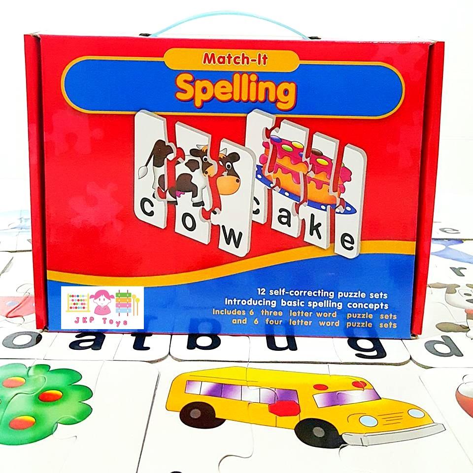 Match It Spelling จิ๊กซอว์จับคู่ภาพกับคำศัพท์ภาษาอังกฤษ