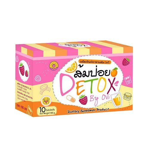 ส้มป่อย DETOX By Ovi น้ำชงส้มป่อย ศูนย์จำหน่ายราคาส่ง Detox สารพิษ ลดพุงขจัดไขมัน ส่งฟรี