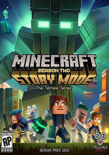 Minecraft Story Mode Season Two (1DVD)