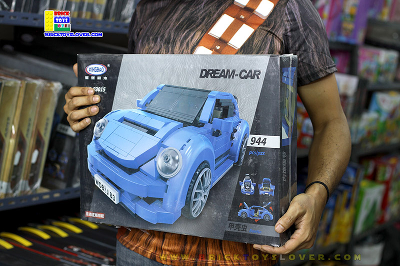 XB-03015 ของเล่นตัวต่อ Dream Car รถเต่า Beetle
