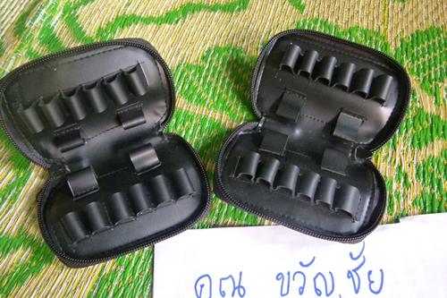 กระเป๋าใส่ ลูกกระสุนปืน ใส่กับลูก 9มม. / จุด38 / จุด357 / 11มม. / จุด45 ใส่กระสุนได้ 16 นัด