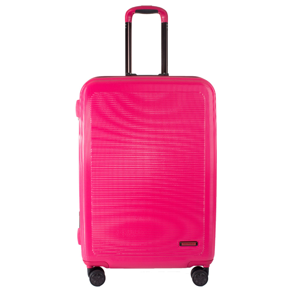 """กระเป๋าเดินทาง Polo World รุ่น PW285-TSA 28"""" (สีชมพู)"""