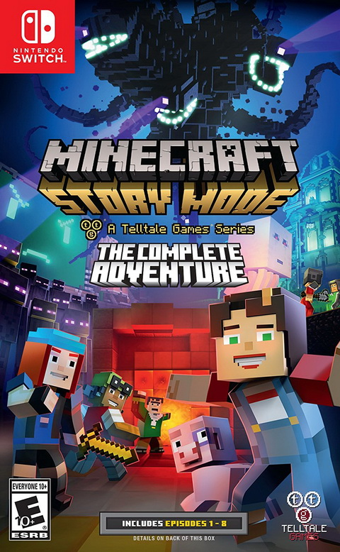 Switch- Minecraft: Story Mode - The Complete Adventure