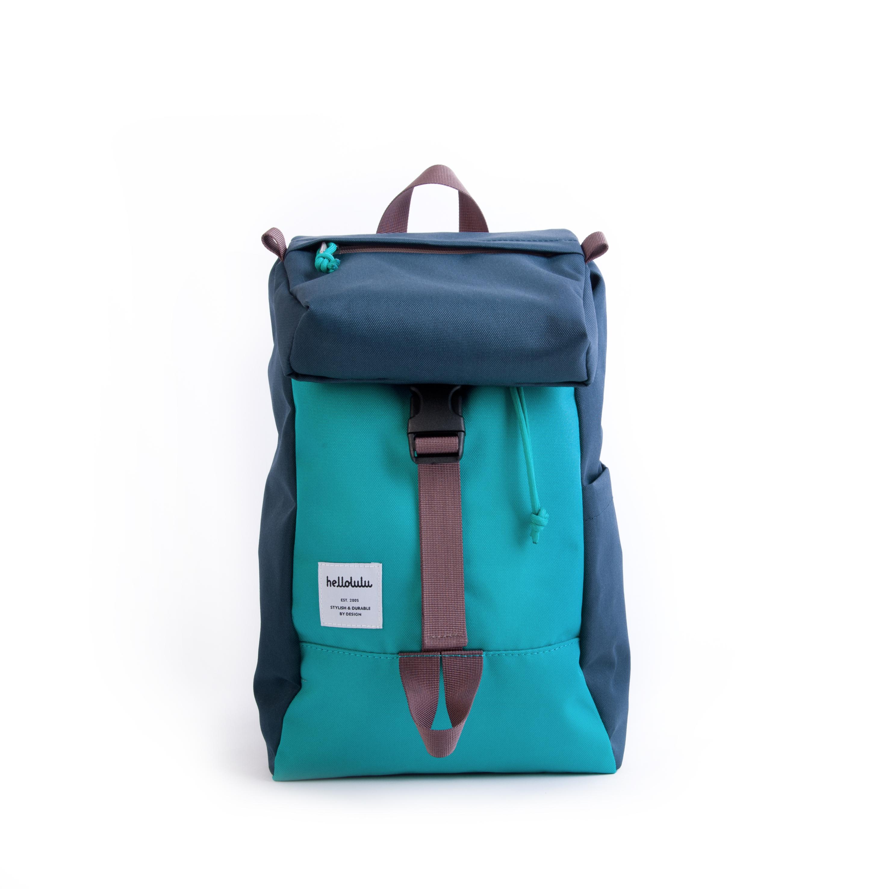 Hellolulu กระเป๋าเด็ก รุ่น MINI SUTTON - NAVY/SKY BLUE