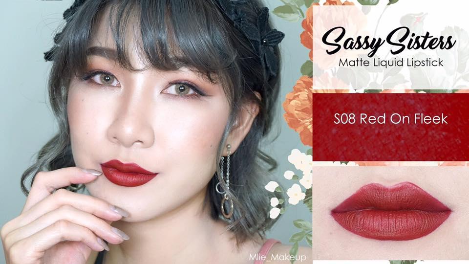 Sassy Sisters - S08 Red On Fleek