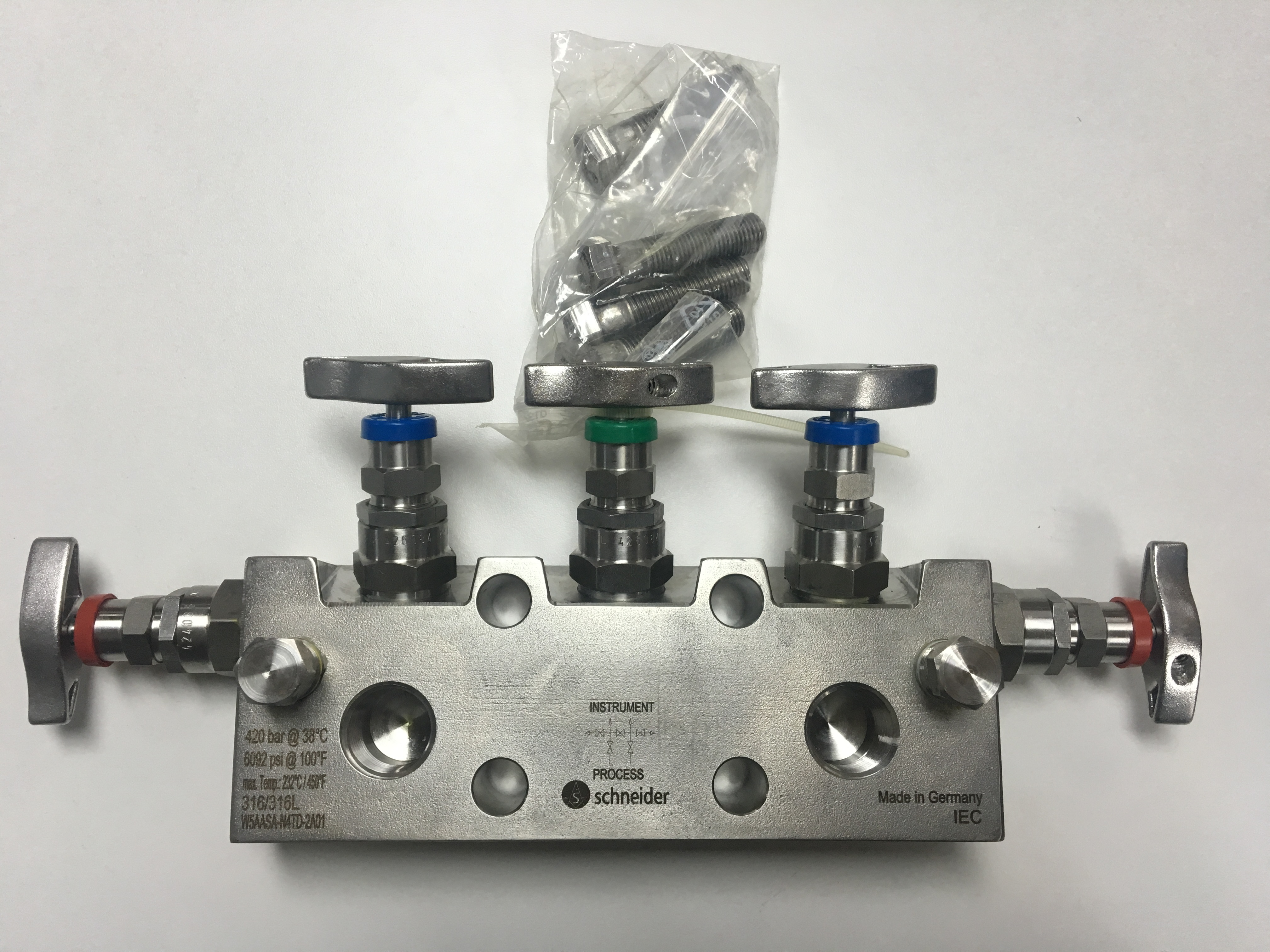 5 VALVE MANIFOLD PN420 FOR DIRECT MOUNTING