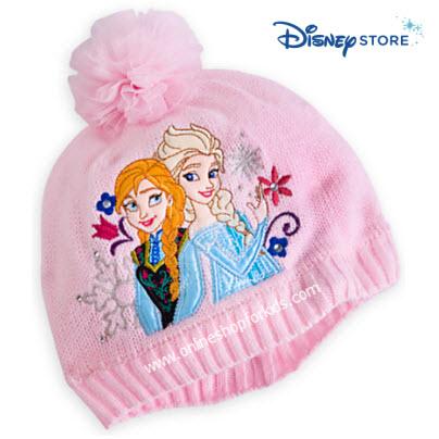 หมวก Anna and Elsa Hat for Girls - Frozen, Size XS-S