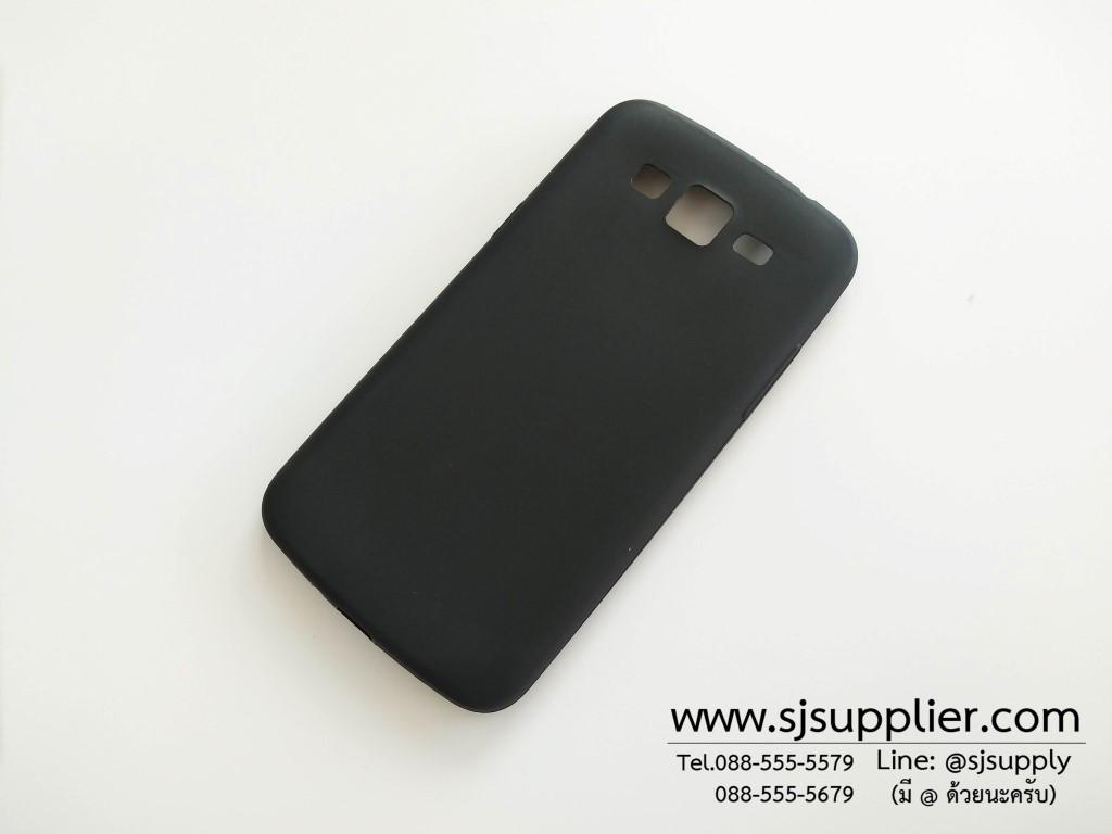 เคส Samsung Grand2 นิ่ม สีดำ