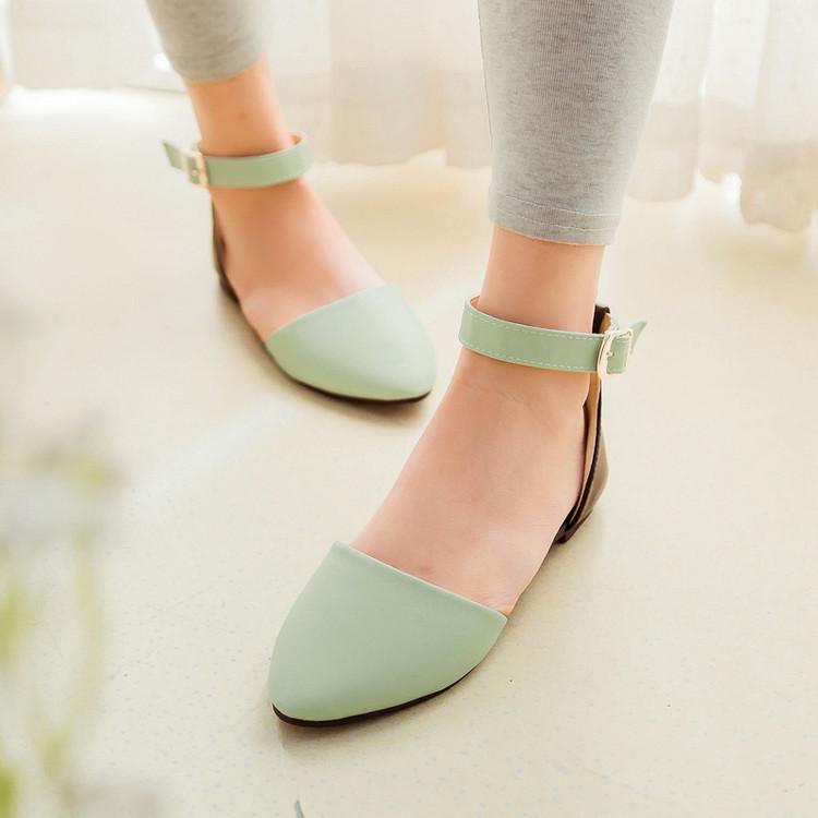 Preorder รองเท้าแฟชั่น สไตล์ เกาหลี 34-43 รหัส 9DA-5763