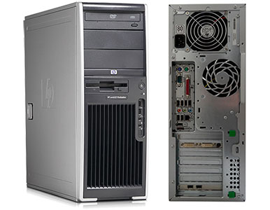 HP Workstation XW4400 Core2Duo