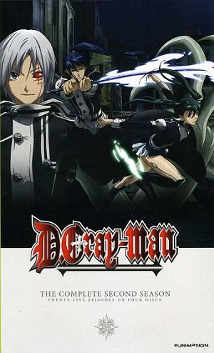 D.Gray-man Part 2 / ดีย์.เกรย์แมน ภาค 2 / 4 แผ่น V2D (พากย์ไทย)
