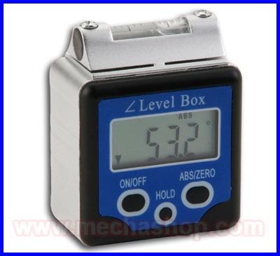 เครื่องวัดองศา เครื่องวัดมุมดิจิตอล มิเตอร์วัดมุม 360องศา Digital Inclinometer Bevel Box Level Angle Gauge Protractor 0-360° Spirit Level