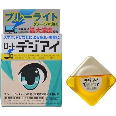 Rohto Digital eye protection ขนาด 12 ml.ยาหยอดตาสำหรับคนที่ทำงานหน้าคอมพิวเตอร์และใช้ smart phoneเยอะ จากญี่ปุ่นค่ะ