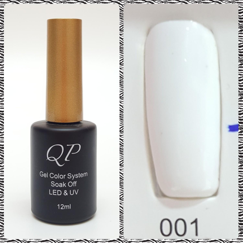 สีเจล QP 12ml. #001