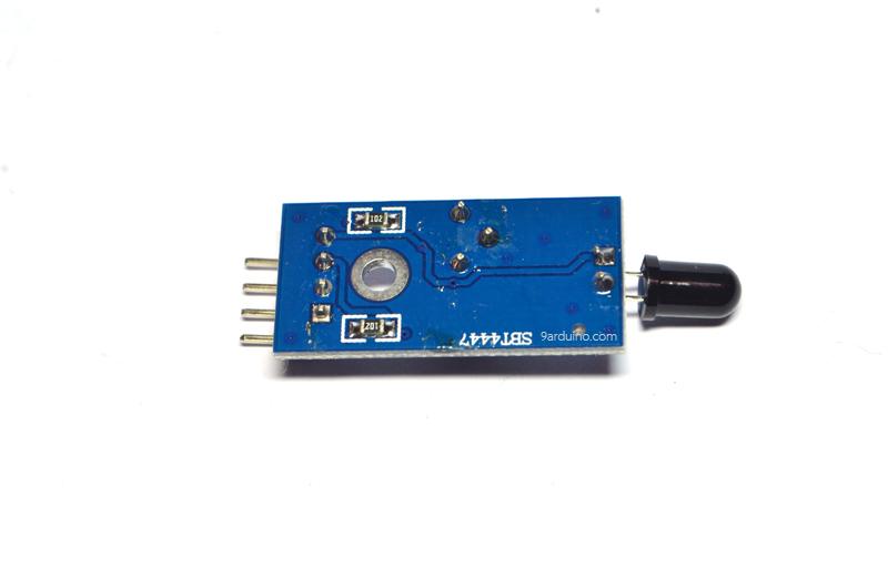 Infrared IR Flame Detector ตรวจจับเปลวไฟด้วย Infrared Arduino