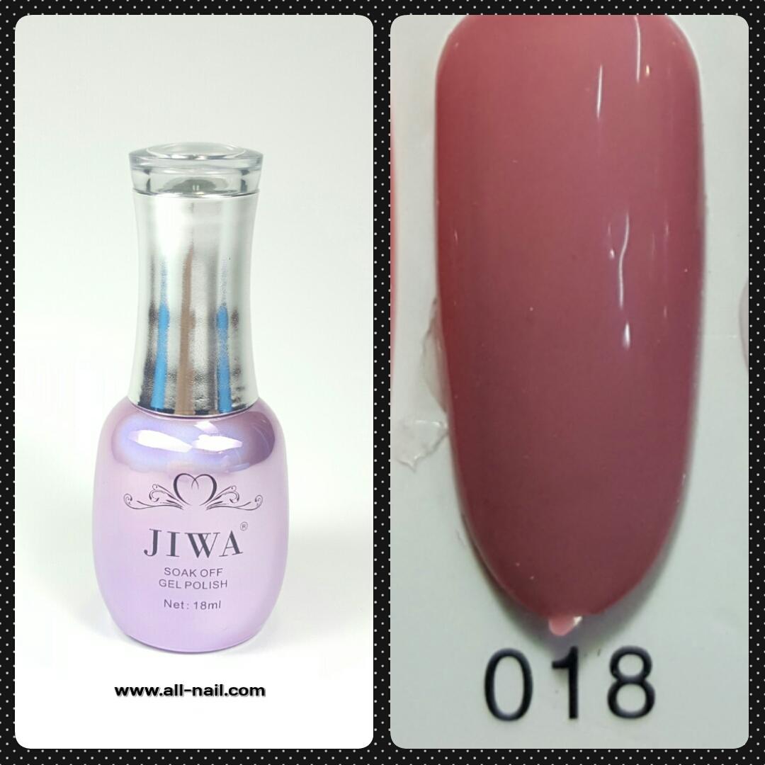 สีเจลทาเล็บ JIWA 18ml #018