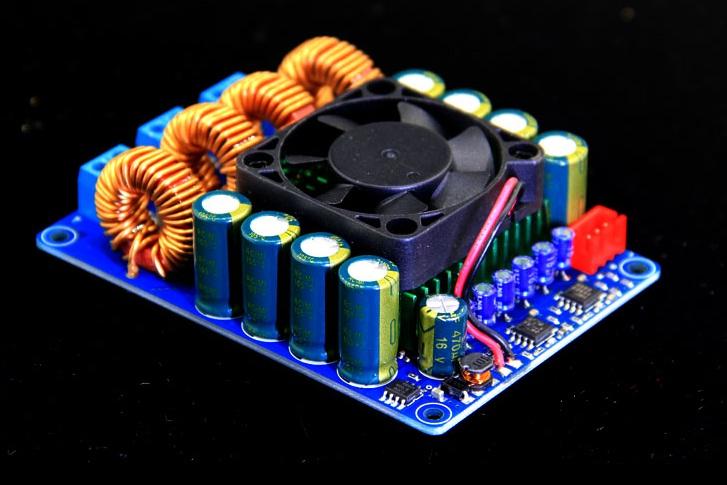 แอมป์กำลังวัตต์สูง ดิจิตอล 600 วัตต์ ( RMS ) TAS5630 2X300w สเตอริโอ