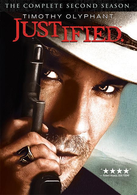 Justified Season 2 / ยุติธรรมปืนดุ ปี 2 / 3 แผ่น DVD (บรรยายไทย)