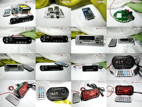 เครื่องเล่น MP3 สำหรับติดตั้งกับชุดเครื่องขยายเสียง