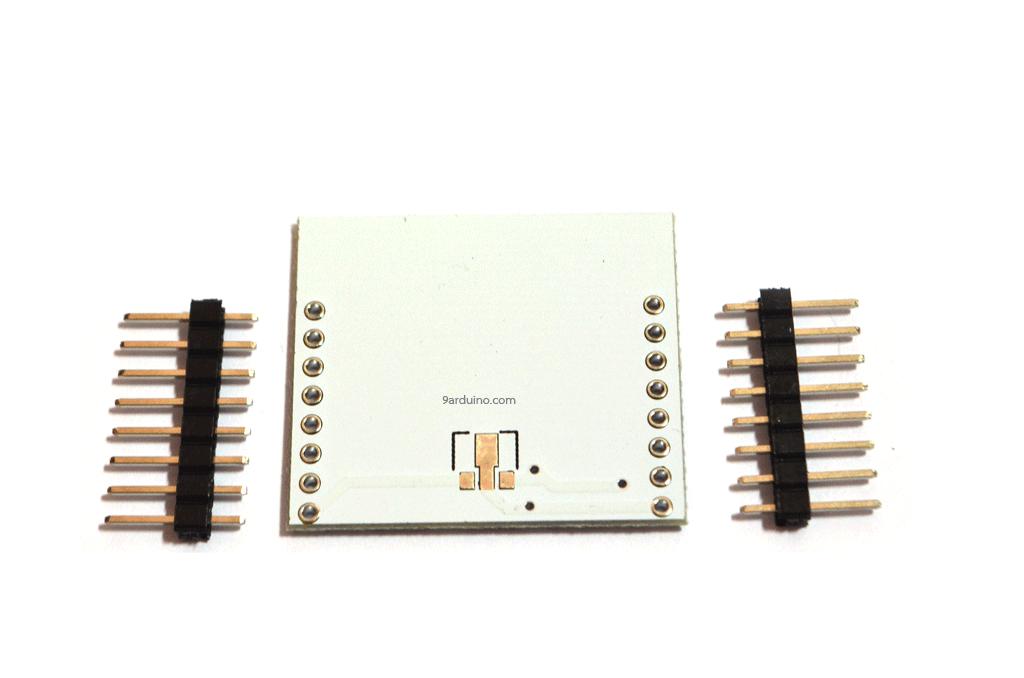 แผ่นปริ้น Esp8266 (ESP8266 PCB) + ก้างปลา