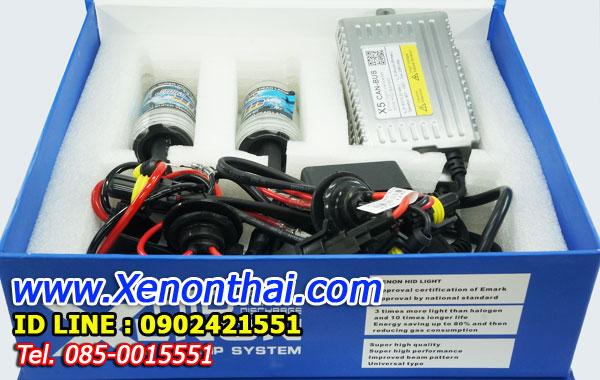 ไฟxenon kit 55W ขั้ว HB4 Ballast X5 Canbus Fast Bright